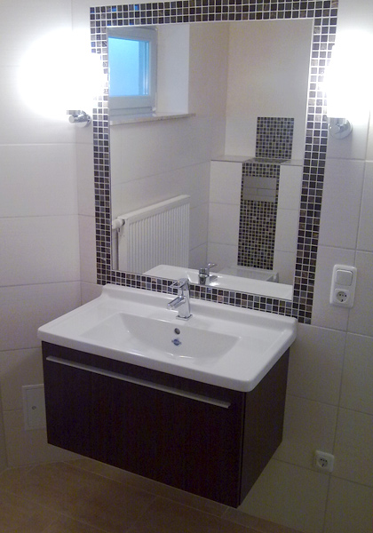 Elegant Mosaike Setzen Stimmungsvolle Akzente Oder Sind Durch Beeindruckende  Großformate Effektive Raumgestalter Für Ihr Badezimmer.